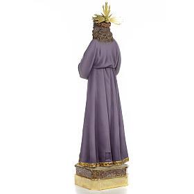 Gesù di Nazaret di Medinaceli 50 cm pasta di legno dec. superio s3