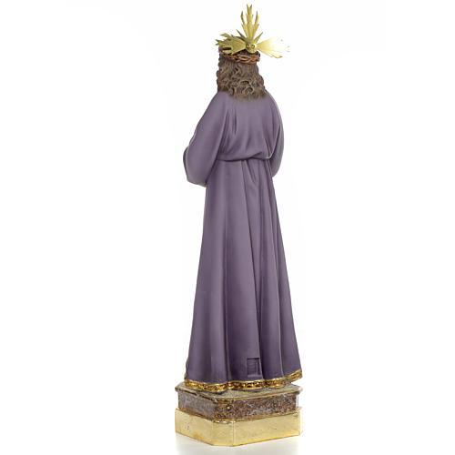 Gesù di Nazaret di Medinaceli 50 cm pasta di legno dec. superio 3
