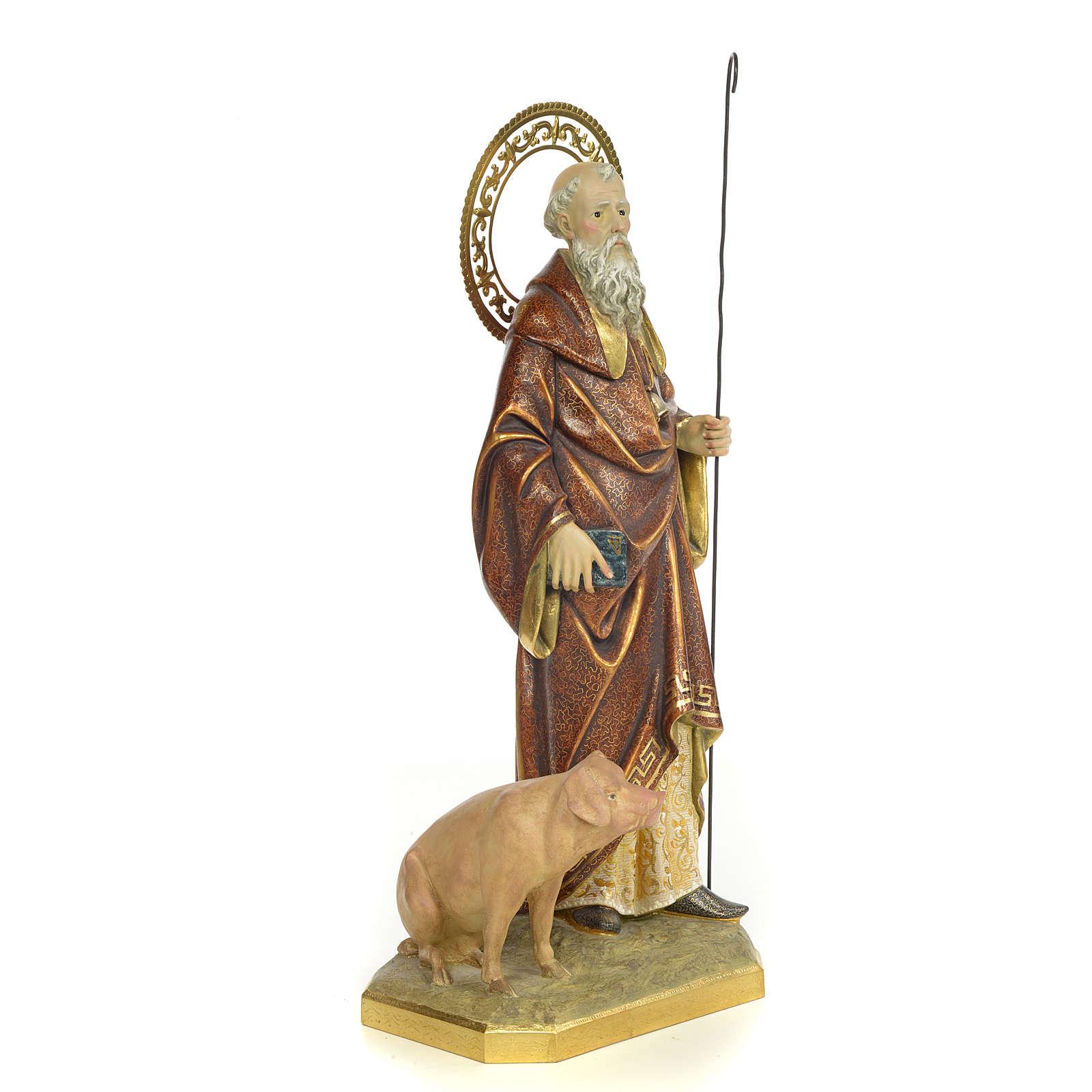 St Antoine Abbé 60 cm pate à bois fin. extra 4