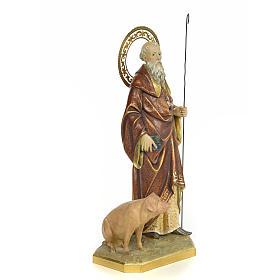 St Antoine Abbé 60 cm pate à bois fin. extra s4