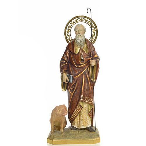 St Antoine Abbé 60 cm pate à bois fin. extra 1