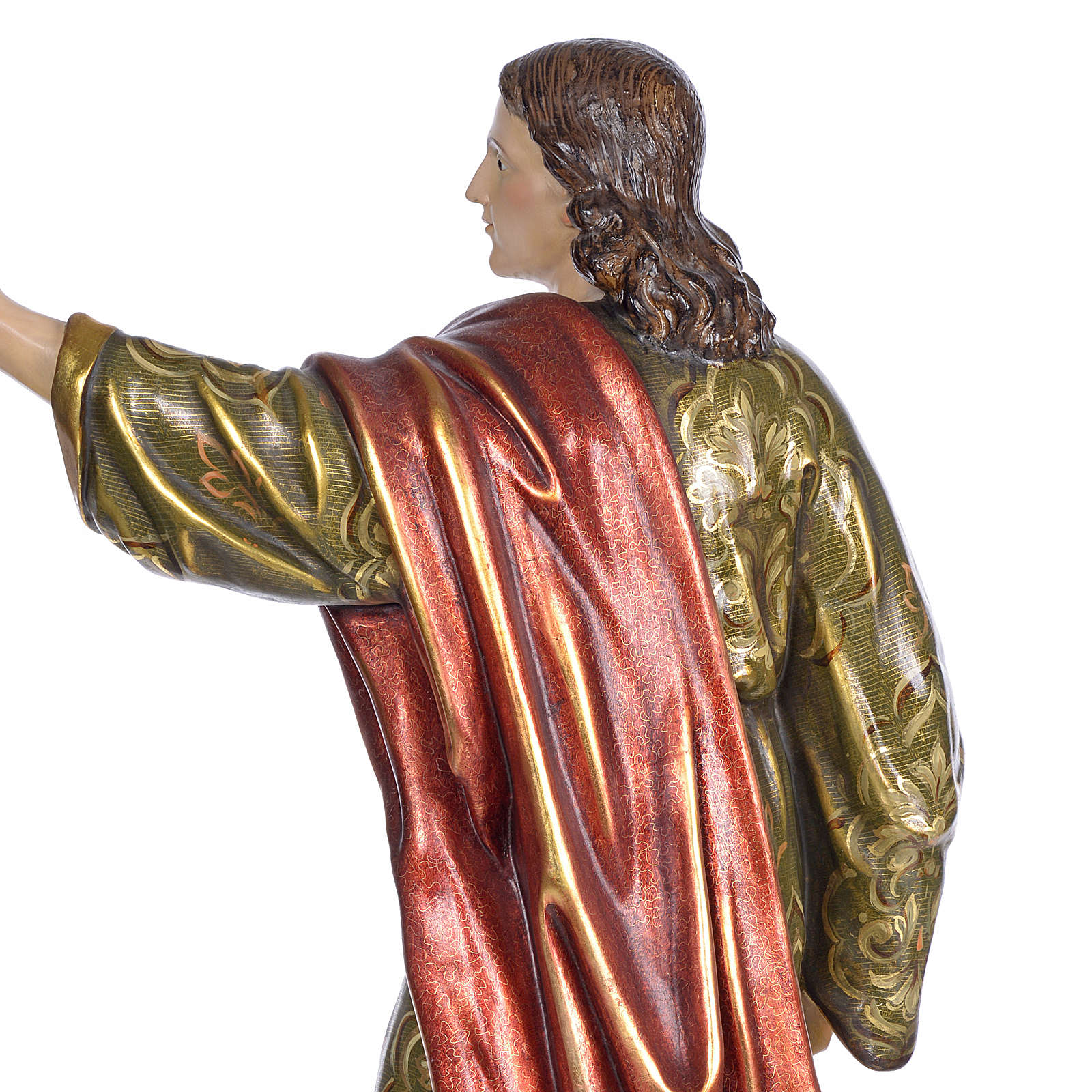 San Giovanni Evangelista 100 cm pasta di legno dec. extra 4