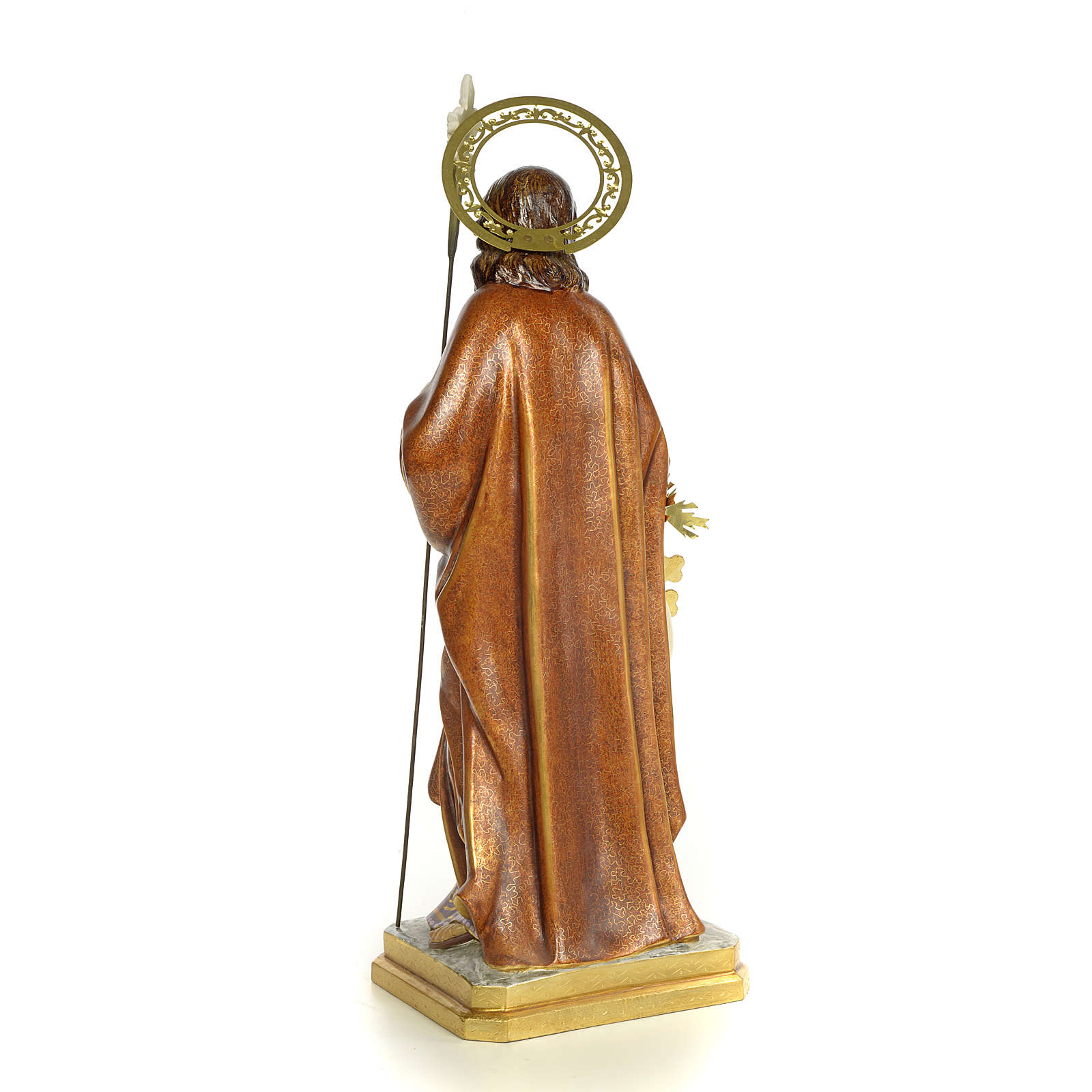 Saint Joseph wood paste 60cm, extra finish 4