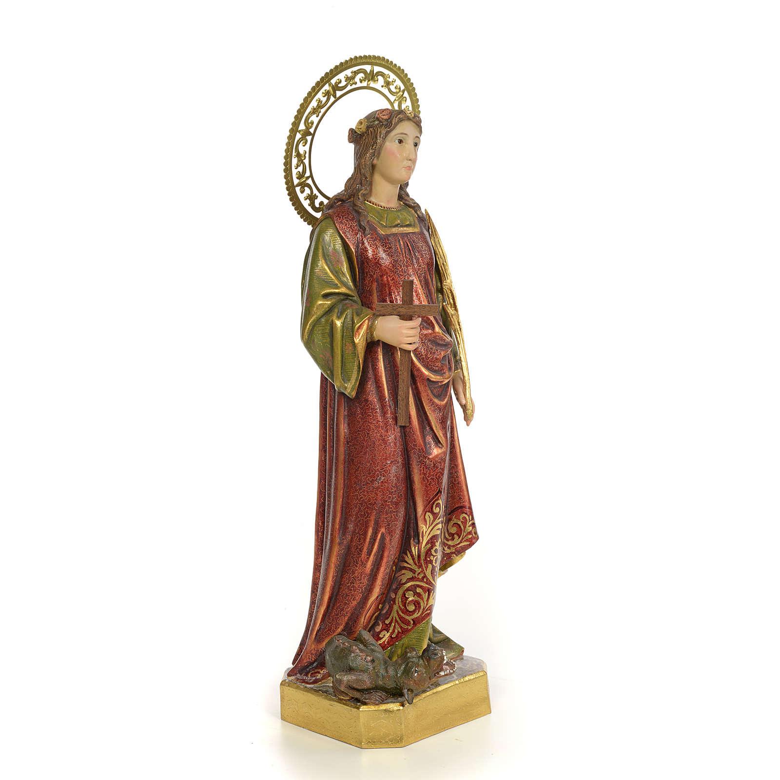 Saint Margaret wood paste 60c, extra finish 4