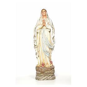 Virgen de Lourdes 100 cm dec. Elegante