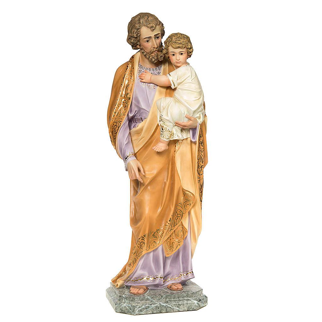 Joseph with Infant Jesus 110cm, fine finish 4
