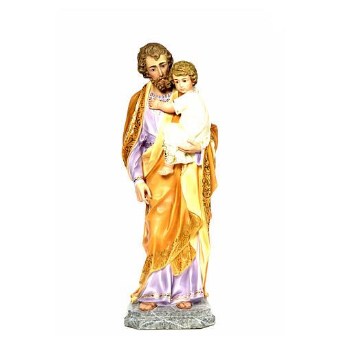 Joseph with Infant Jesus 110cm, fine finish 6