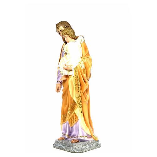 Joseph with Infant Jesus 110cm, fine finish 7