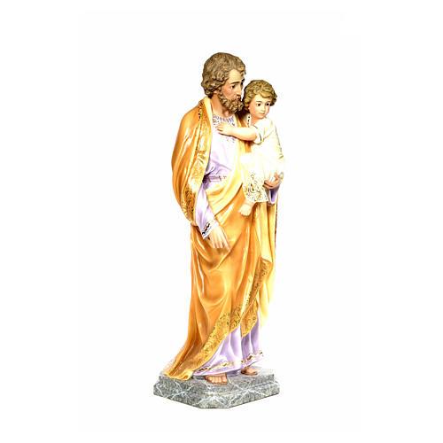 Joseph with Infant Jesus 110cm, fine finish 9