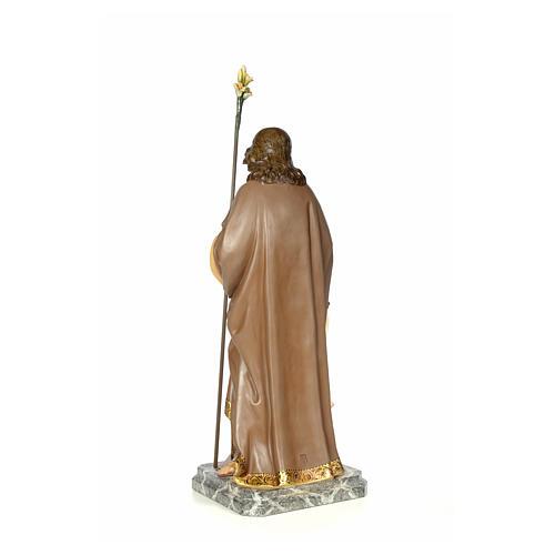 San Giuseppe 100 cm pasta di legno dec. elegante 3