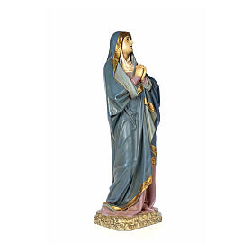 Our Lady of Sorrows wood paste 120cm, aged finish s4