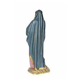 Vergine Addolorata 120 cm pasta di legno dec. anticata s3
