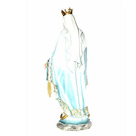 Vergine Miracolosa 120 cm pasta di legno dec. elegante s3