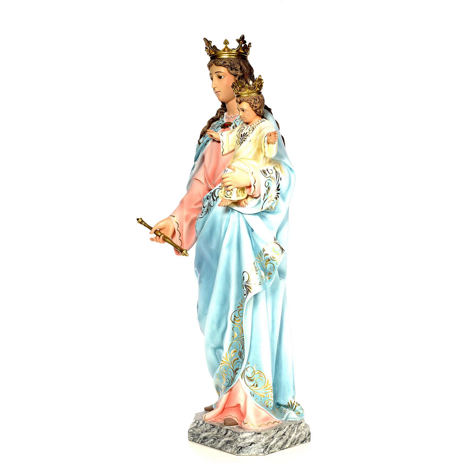 Vierge Auxiliatrice 120 cm pâte à bois 4