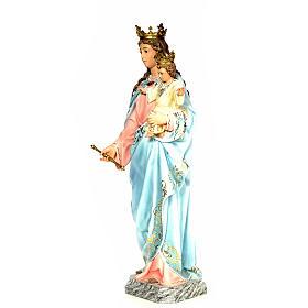 Matka Boża Wspomożycielka 120 cm ścier drzewny dek. elegancka s2