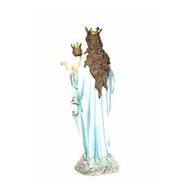 Matka Boża Wspomożycielka 120 cm ścier drzewny dek. elegancka s3