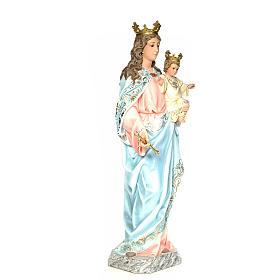 Matka Boża Wspomożycielka 120 cm ścier drzewny dek. elegancka s4