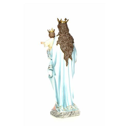 Matka Boża Wspomożycielka 120 cm ścier drzewny dek. elegancka 3