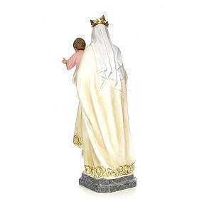 Vergine del Carmelo 100 cm pasta di legno dec. elegante s3