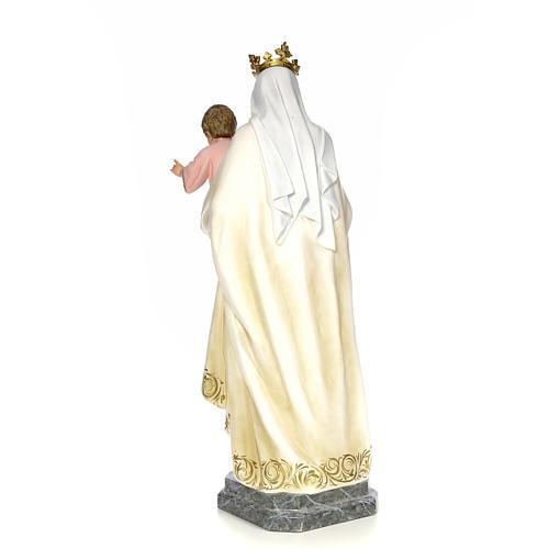 Vergine del Carmelo 100 cm pasta di legno dec. elegante 3