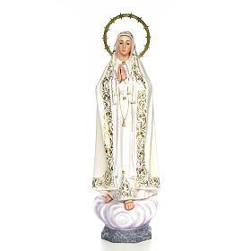 Vergine di Fatima 100 cm dec. elegante s1