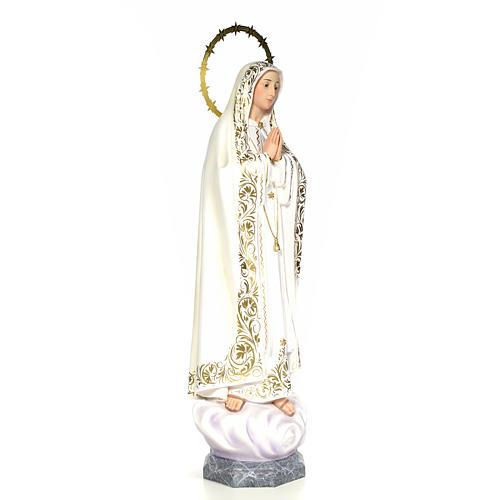 Vergine di Fatima 100 cm dec. elegante 4