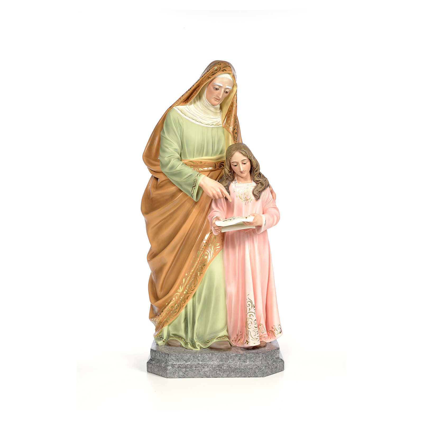 Sainte Anna 100cm pâte à bois élégant 4
