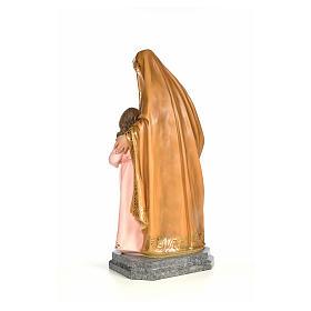 Sainte Anna 100cm pâte à bois élégant s3