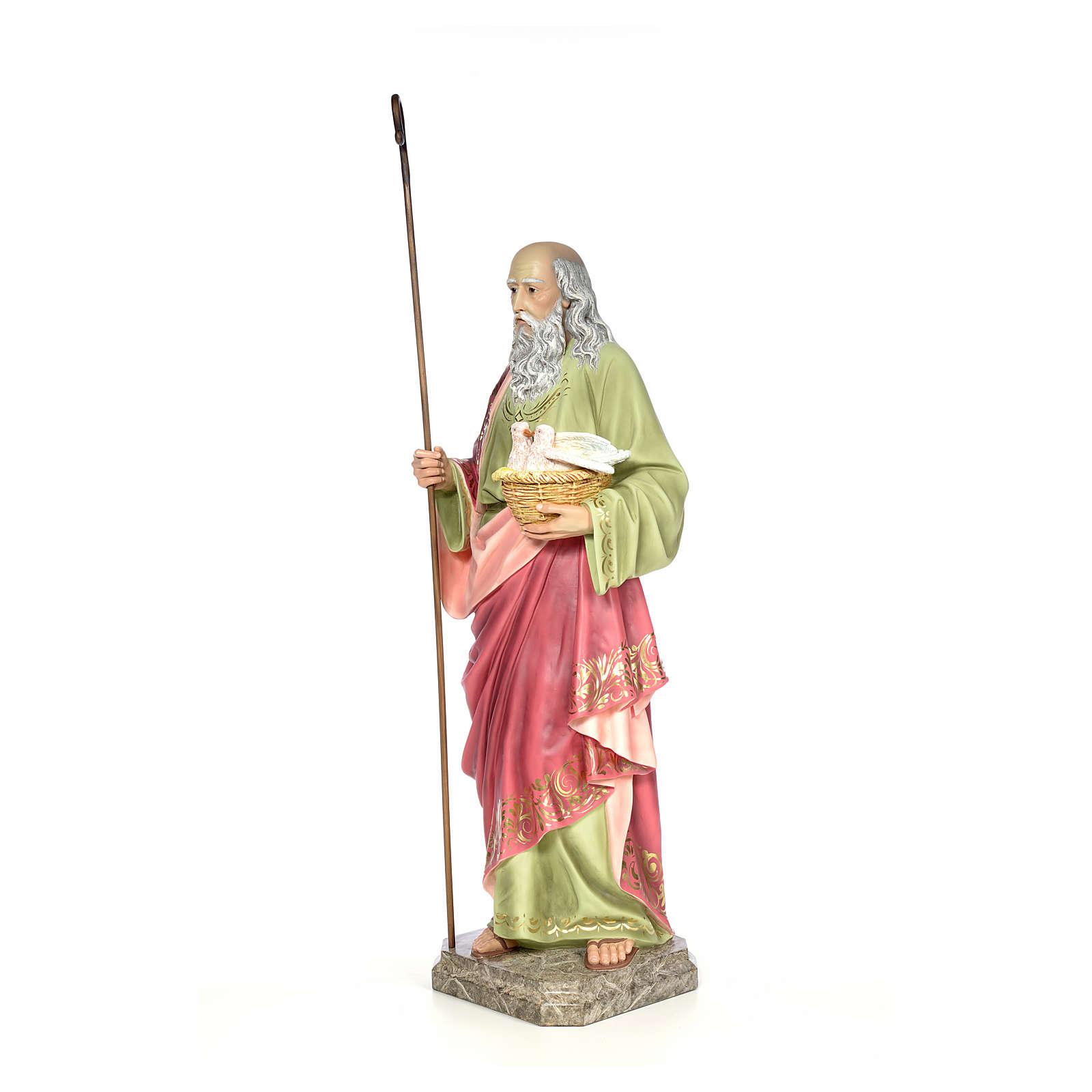 St Joachim 100 cm pâte à bois élégant 4
