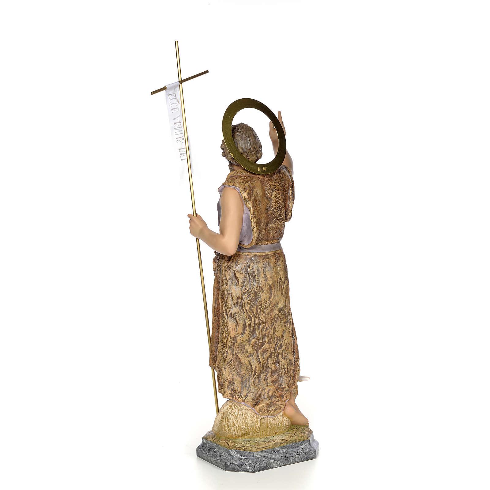 John the Baptist wood paste 80cm, fine finish 4