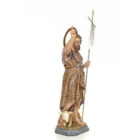 John the Baptist wood paste 80cm, fine finish s4
