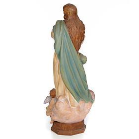 Purissima Concezione 60 cm legno dec. anticata s3