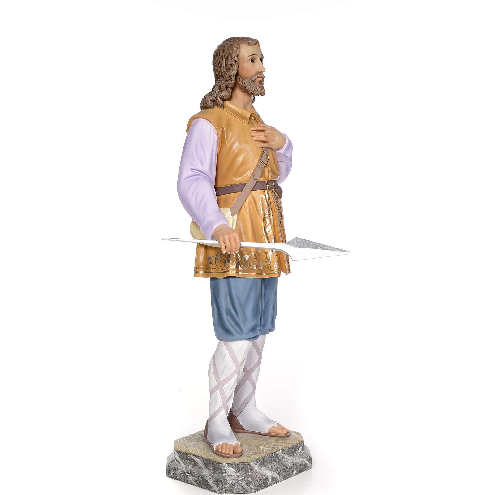 Sant'Isidoro 80 cm pasta di legno dec. elegante 4