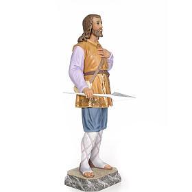Sant'Isidoro 80 cm pasta di legno dec. elegante s4