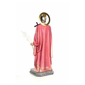 Sant'Espedito 120 cm pasta di legno dec. elegante s3