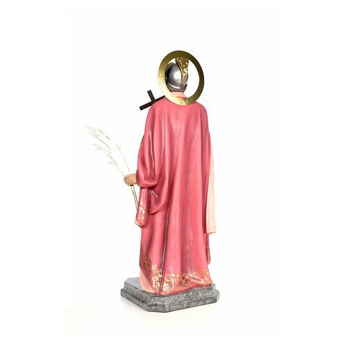 Sant'Espedito 120 cm pasta di legno dec. elegante 3
