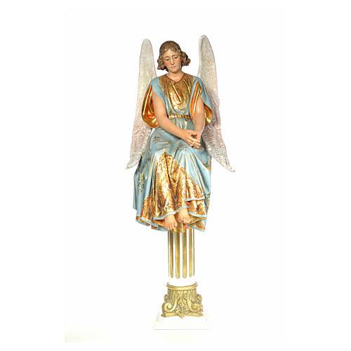 Engel auf dem Grab 110cm, extra Finish 1