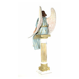 Angel on sepulcher wood paste 110cm, extra finish s3