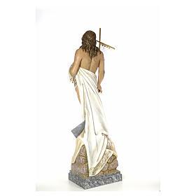 Christ Ressuscité 180 cm pâte à bois s3