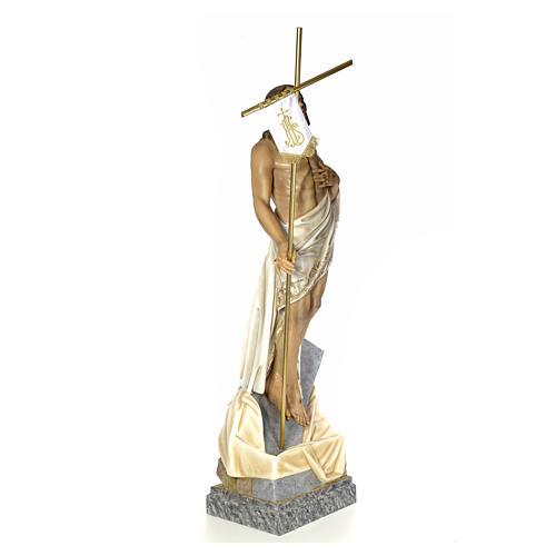 Christ Ressuscité 180 cm pâte à bois 4