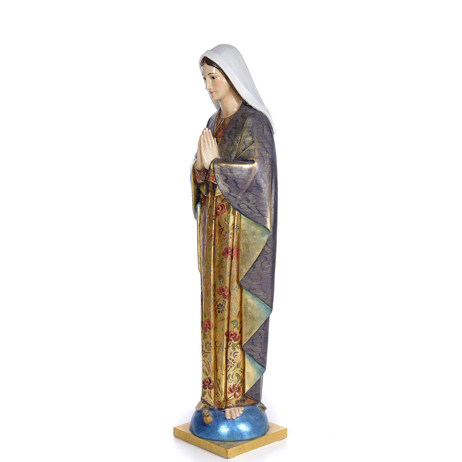 Imaculada Conceição 100 cm pasta madeira acab. extra 4