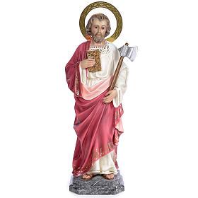 San Giuda Taddeo 80 cm pasta di legno dec. elegante s1