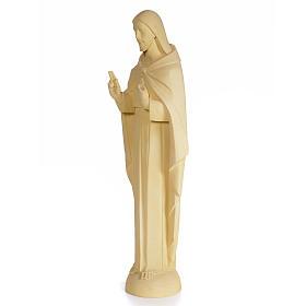 Sagrado Corazón de Jesús 100cm dec. arena pasta de madera s2