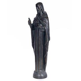 Sagrado Corazón de Jesús 100cm. dec. bronceada pas s2