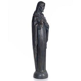 Sagrado Corazón de Jesús 100cm. dec. bronceada pas s4