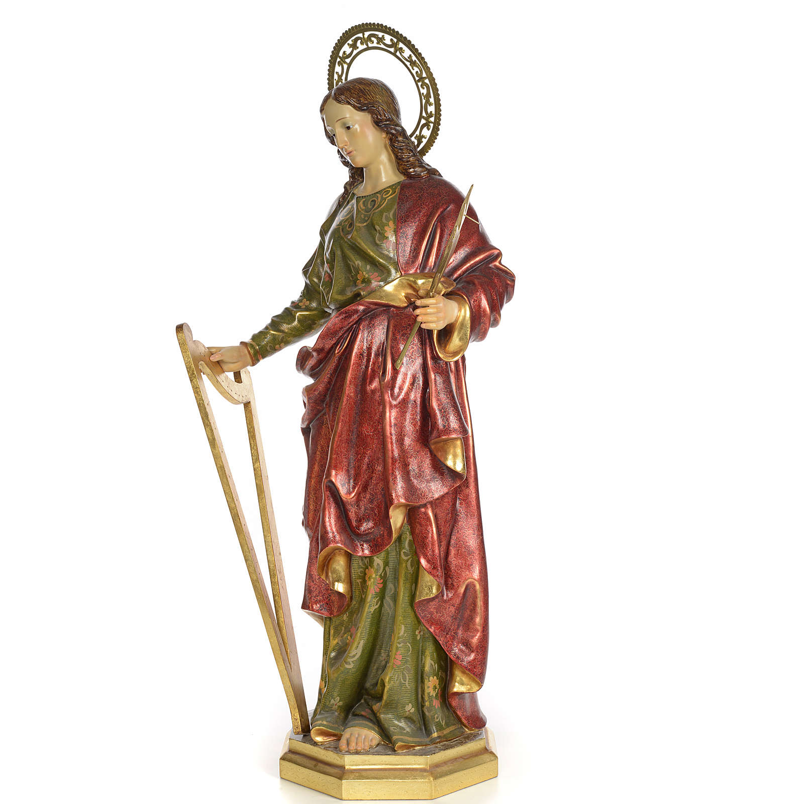 Sainte Cécile 100 cm pâte à bois extra 4