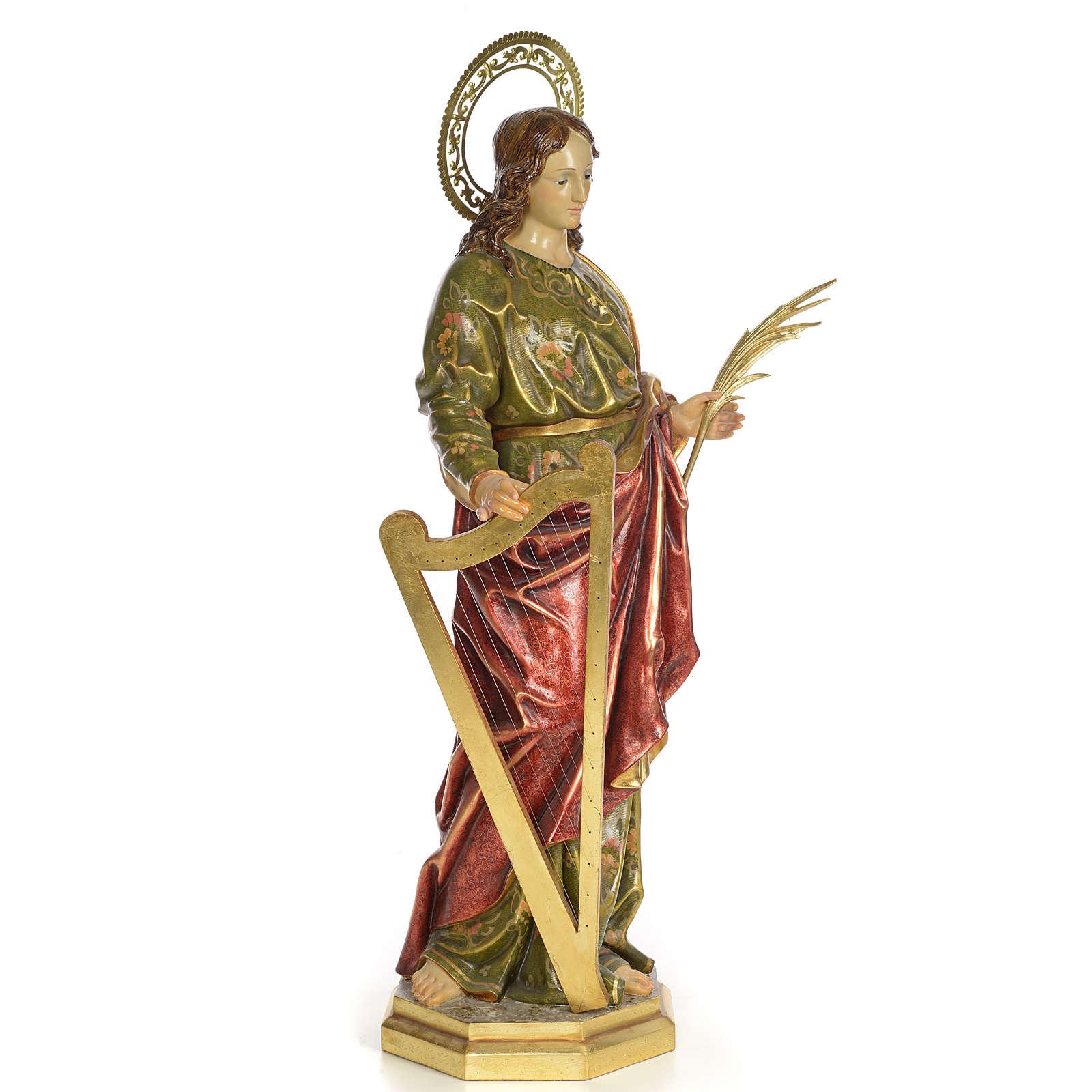 Santa Cecilia 100 cm pasta di legno dec. extra 4