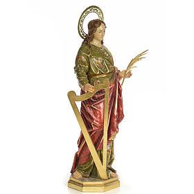 Santa Cecilia 100 cm pasta di legno dec. extra s4