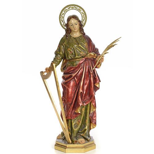 Santa Cecilia 100 cm pasta di legno dec. extra 1