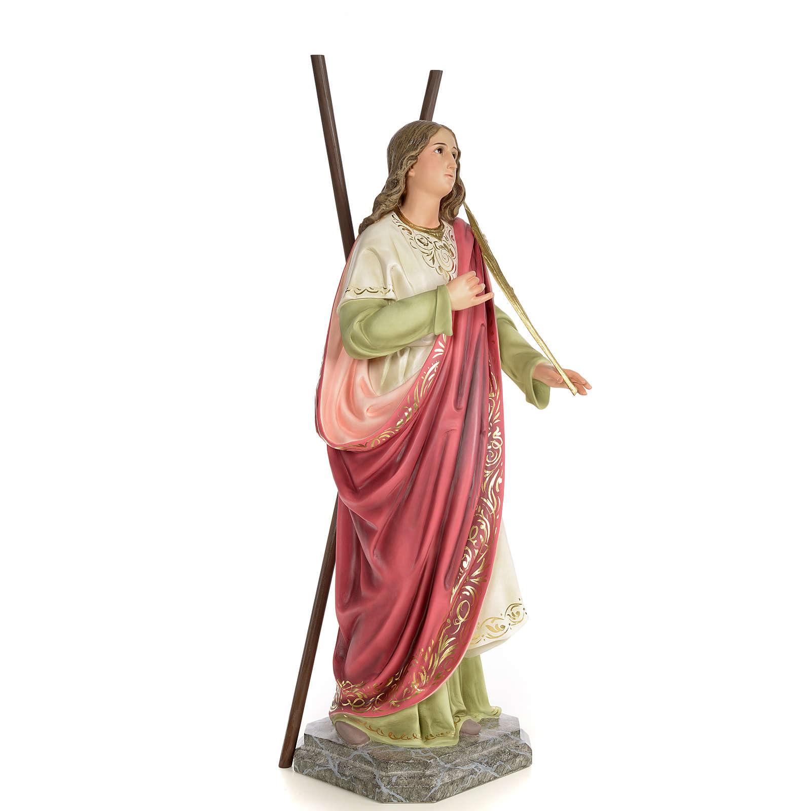 Sant'Eulalia 80 cm pasta di legno dec. elegante 4